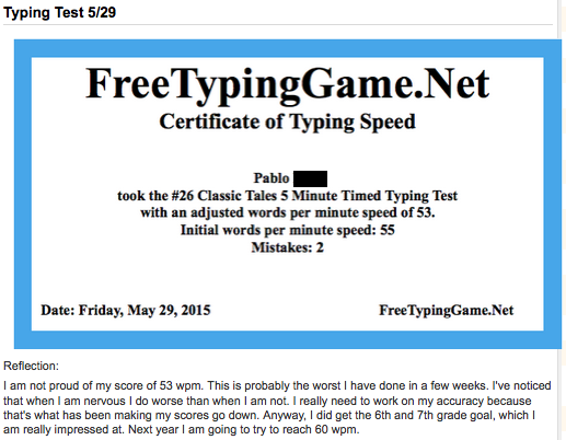Free Typing Game Net Test | Games World