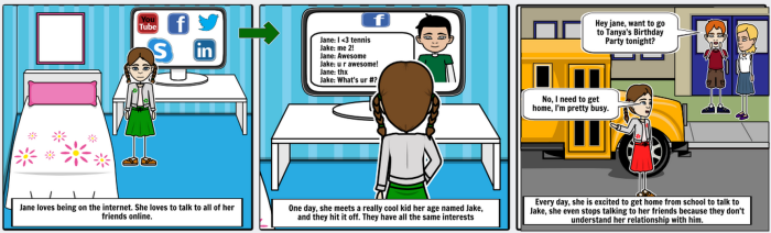 internet safety comic